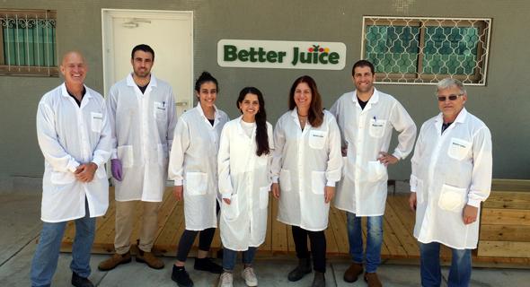 Better Juice team. Photo: Lotem Friedland