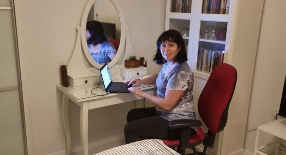 Rutie Adar at her home office. Photo: Samsung