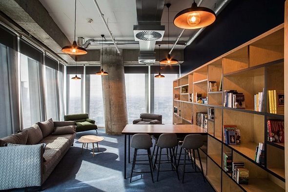 The Facebook office where the course will take place physically. Photo: Facebook