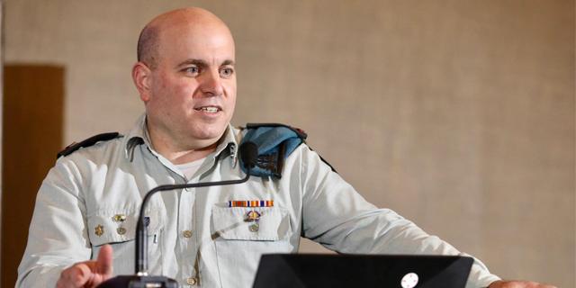 Omer Dagan, the Head of Lotem, the IDF's Digital and Data Unit. Photo: Niv Kantor