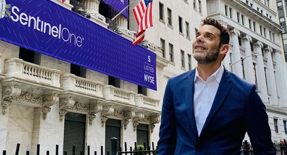 SentinelOne founder and CEO Tomer Weingarten. Photo: SentinelOne