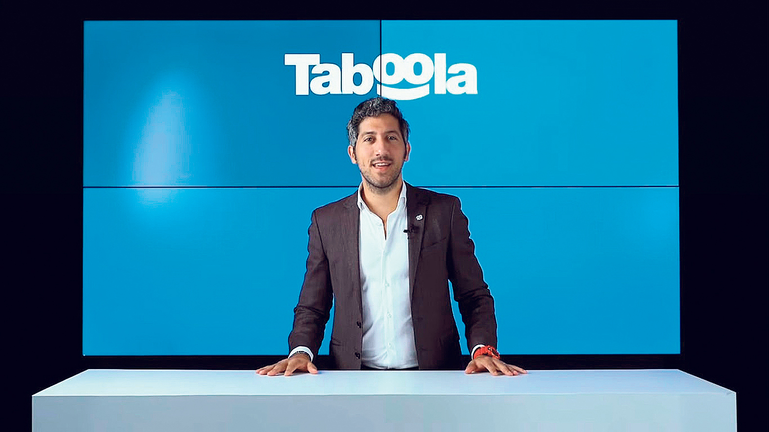 Taboola CEO Adam Singolda. Photo: YouTube