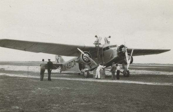פורד טרימוטור, מטוס הנוסעים הראשון שנחטף, צילום:  Wikimedia