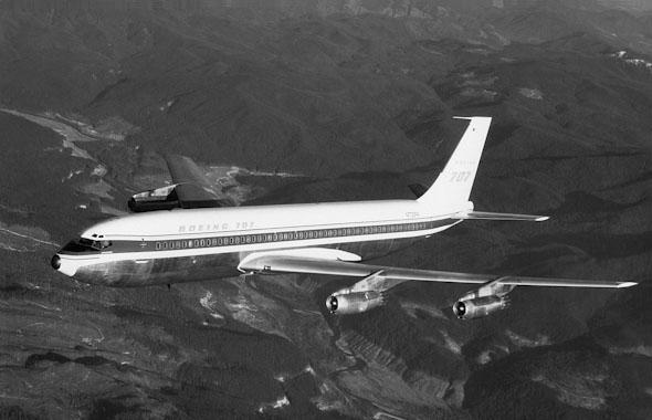 טווח ומהירות שעשו חיים קלים לנוסעים ולחוטפים כאחד. ה-707 המהפכני של בואינג, צילום:  Wikimedia