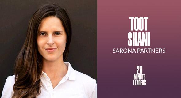 Toot Shani, co-founder and CEO, Sarona Partners. Photo: Sarona PR