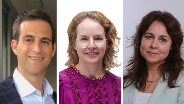 Left to right: Jarred Feder, Hili Rashkovan, and Gail Etzion. Photo: Tadiran / Eyal Marilus / Tomer Jacobson