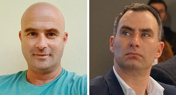 Sagi Berco and Yanir Laubshtein. Photo: NanoLock/PR