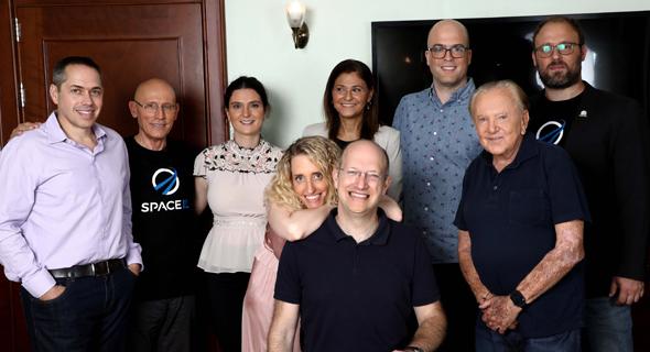 The SpaceIL team. Photo: SpaceIL