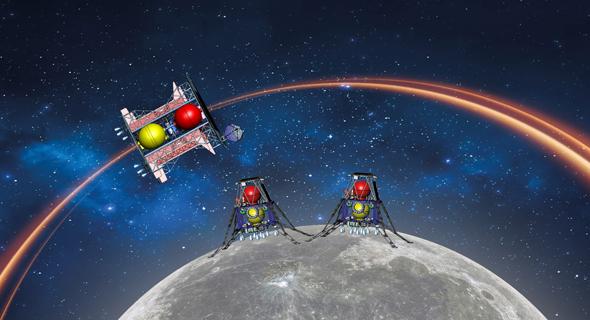 Beresheet 2 lunar mission. Photo: SpaceIL
