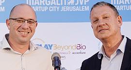 Erel Margalit and Ohad Goldberg. Photo: Ricky Rachman
