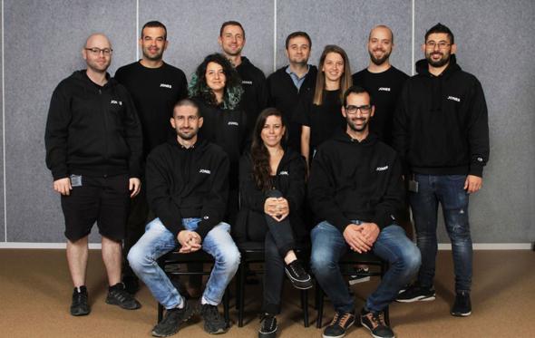 The Jones' team. Photo: Osnat Krasnansky Photography