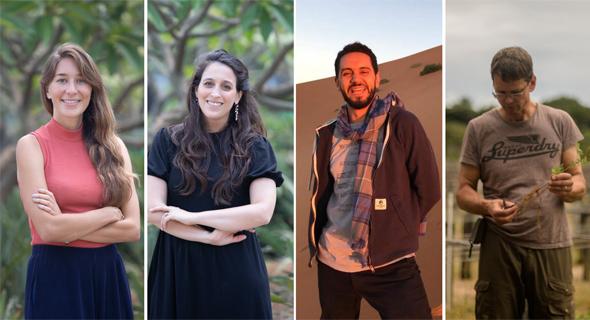 (Left to right) Jennifer Elias, Jessica Rosner, Anas BaChar and 12Tree CEO Richard Focken. Photo: Eduardo Feldman ADayinTheLife.photo