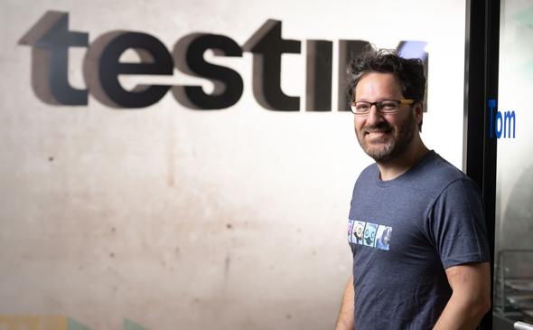 Oren Rubin, CEO and founder of Testim Photo: Rami Zarnegar