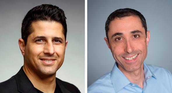 Shay Michel (left) and Seth Spergel. Photo: Almog Goldenberg