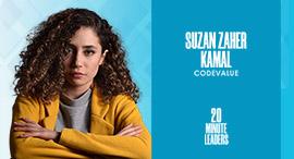 Suzan Zaher Kamal, software developer and team lead at CodeValue. Photo: Nadine Qadour