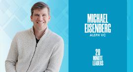 Michael Eisenberg, equal partner Aleph VC. Photo: N/A