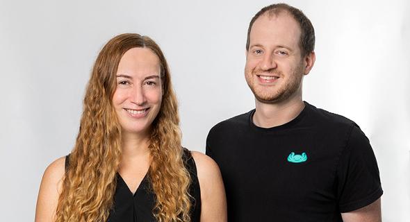 Treeverse co-founders Einat Orr and Oz Katz. Photo: Treeverse