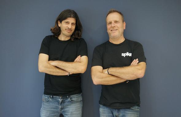 Spike Co-founders Erez Pilosof (left) and Dvir Ben-Aroya. Photo: Spike