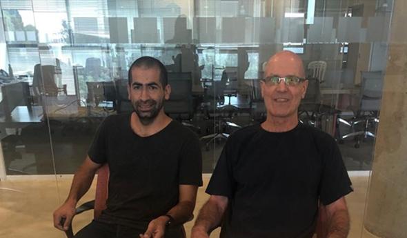 Shay Raviv and Apprend CEO Dr. Zachi Berger. Photo: MEDX