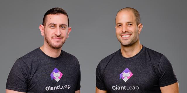 GiantLeap co-founders Ori Hofnung (right) and Nadav Goshen. Photo: Fusion LA
