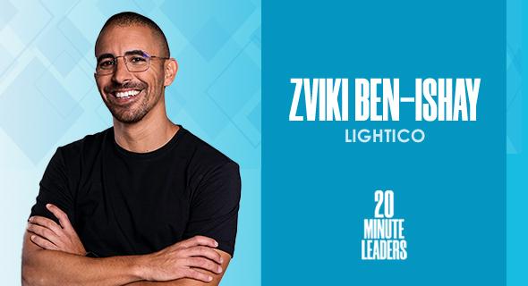 Zviki Ben-Ishay, co-founder and CEO of Lightico. Photo: Studio Melish