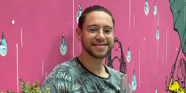 BitDam's swimming research engineer