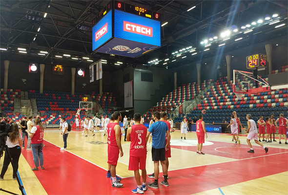 NDA, Calcalist and CTech basketball event Monday Photo: Elihay Vidal