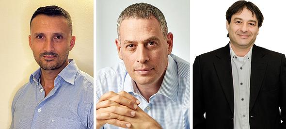 Chai Avital, Assaf Barnea, and Haim Brosh. Photo: IIA, N/A. Shahar Tamir,