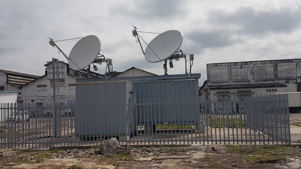 Some of Gilat's satellites in a remote locations in Africa where connectivity is sparse. Photo: Gilat Telecom