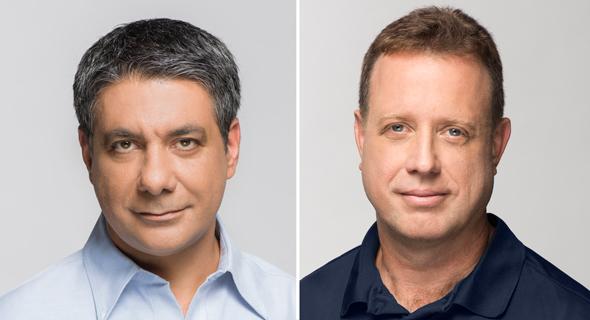 lool Ventures co-founders Yaniv Golan (left) and Avichay Nissenbaum Photos: Yoam Reshef