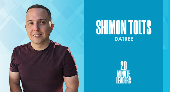 Shimon Tolts, founder and CEO of Datree. Photo: Shimon Tolts