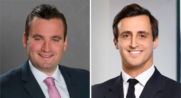 From right to left: Josef Fuss and Nathan Krapivensky of the Taylor Wessing law firm. Photo: Taylor Wessing LLP
