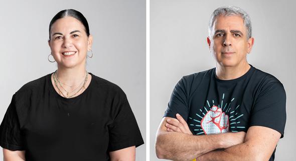 Aliza Tamir and Rony Greenberg. Photo: Ofir Harel