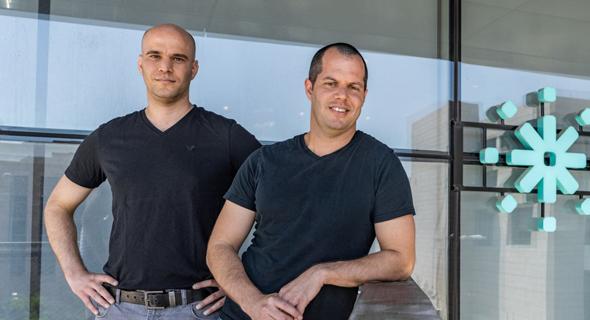 Imubit co-founders Gil and Nadav Cohen. Photo: Rom Eliaz