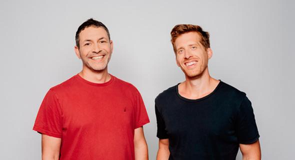 Monday.com co-CEOs Roy Mann (left) and Eran Zinman Photo: Netanel Tobias