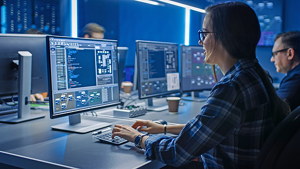 Women are increasingly choosing career paths in cyber and STEM (illustrative). Photo: Shutterstock