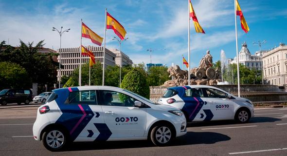 GoTo cars in Madrid Courtesy