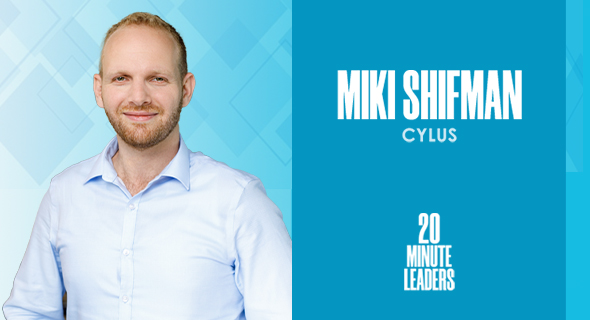 Miki Shifman, co-founder and CTO of Cylus. Photo: Cylus