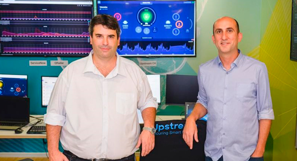 Upstream Security co-founders Yoav Levy and Yonatan Appel. Photo: Yarin Ternos