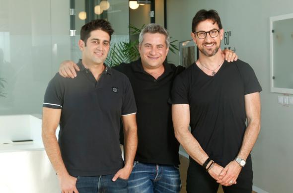Hanaco Venture Partners (from left to right): Lior Prosor, Pasha Romanovski, and Alon Lifshitz. Photo: Amir Levy