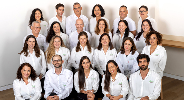 Amai Protein's team includes 9 equipped with PhD's and employs 70% women. Photo: Chana Nudelman-Faust