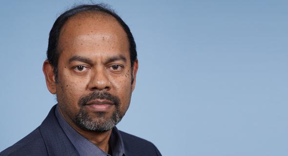 Anbu Muppidathi (center) is Qualitest's new CEO. Photo: Qualitest