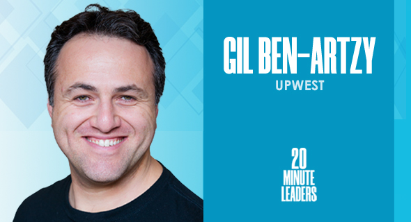 Gil Ben-Artzy, founding partner at UpWest. Photo: UpWest