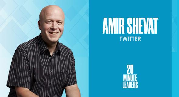 Amir Shevat, head of product for the developer platform, Twitter. Photo: Shoko Shevat