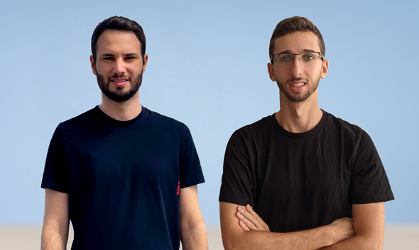 Upswift co-founders Eitan Chudnovsky and Amit Ezer. Photo: Upswift
