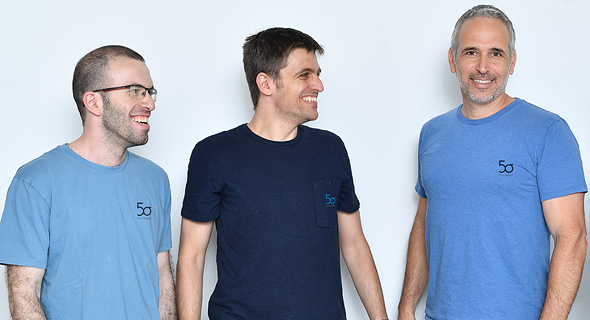 Five Sigma co-founders Oded Barak (CEO), Michael Krikheli (CTO), and Dror Sholomon (VP R&D). Photo: F2