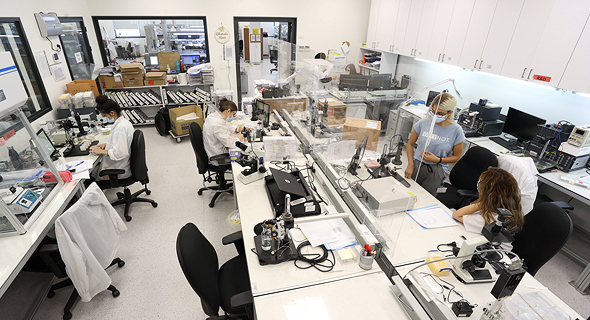 The Alpha Omega laboratory in Nazareth. Photo: Elad Gershgoren