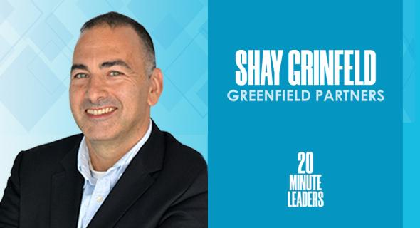 Shay Grinfeld, managing partner, Greenfield Partners. Photo: Shay Grinfeld