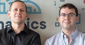 Cynamics co-founders Eyal Elyashiv and Aviv Yehazkel. Photo: Ofer Keidar