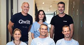 Qwilt management. Photo: Bertzi Goldblat